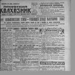 Псковский колхозник