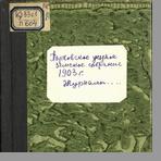 Порховское уездное земское собрание  Журналы Порховского очередного уездного земского собрания сессии 1903 года