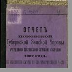 Псковская губернская земская управа  Отчет Псковской губернской земской управы очередному губернскому земскому собранию 1887 года по исполнению сметы по благотворительной части за 1886 год